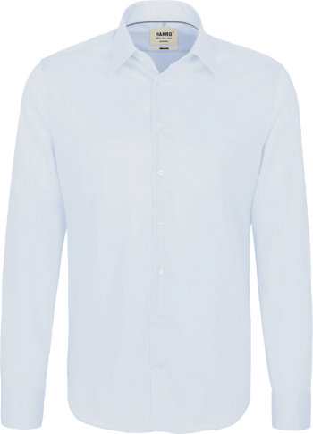 HAKRO Hemd 105 LA Business Tailored, himmelblau