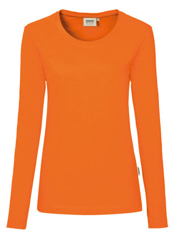 HAKRO Damen LA T-Shirt Performance 179, orange