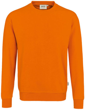 HAKRO Sweatshirt Performance 475, orange