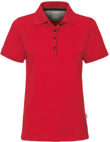 HAKRO Damen Polo 214 Cotton-Tec, rot