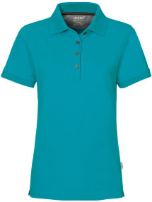 HAKRO Damen Polo 214 Cotton-Tec, smaragd