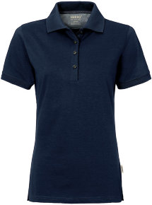 HAKRO Damen Polo 214 Cotton-Tec, tinte