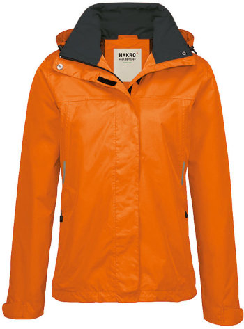 HAKRO Damen Regenjacke 262 Colorado, orange