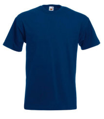 Fruit of the Loom T-Shirt Super Premium, navy